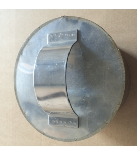 Tampon poignée inox D.125mm