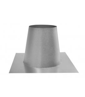 Solin plat inox concentrique